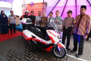 LAUNCHING AMBULANCE MOTOR & APLIKASI MOBILE DI HARI JADI KE-6 RSJHMC